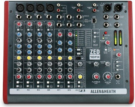 MIXER Modena ALLEN & HEATH ZED 10 FX